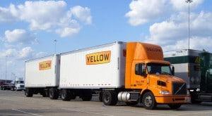 Yellow Truck Freight Shipper